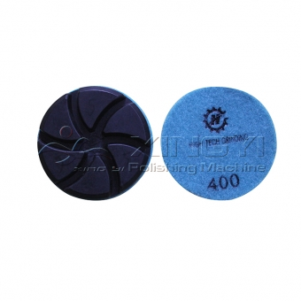 velcro resin floor grinding polishing resin pads